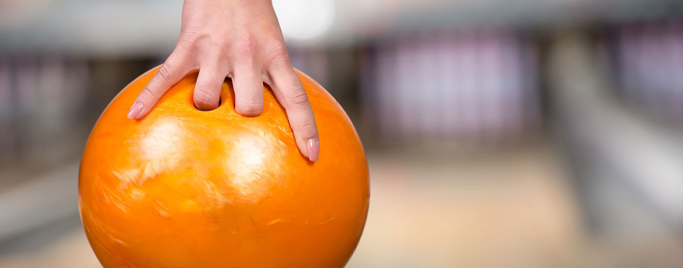Bowling With Liquid Hand Chalk