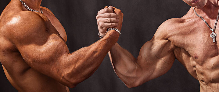 dominate in arm wrestling